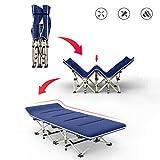 Haida Ultraleichter Sport Outfitter Camping Kinderbetten;Camping Kinderbetten for Erwachsene;Klappbett Bett;Einfache