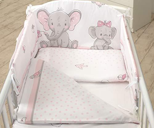 3PCS Baby Bedding Set fit Cot 12...