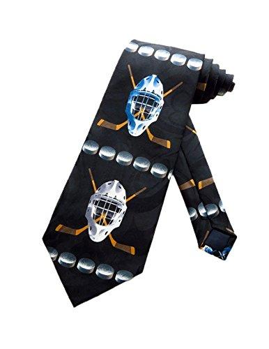 LREFON Hockeyausrüstung Krawatte - Schwarz - Krawatte