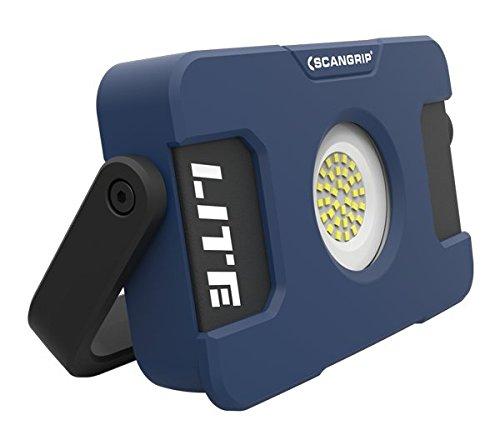 ScanGrip Lighting 03.5630 FLOOD LITE S accu-LED-bouwlamp met USB-powerbank
