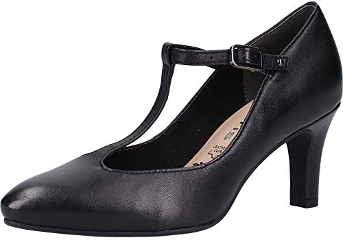 Tamaris 1-24429-22 Damen Pumps Schwarz, EU 39