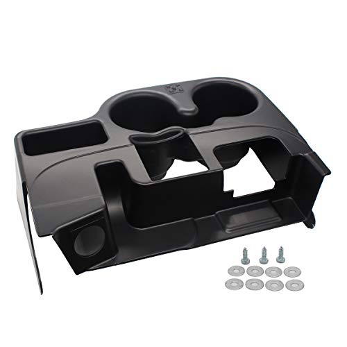 NewYall Black Center Console Cup Holder