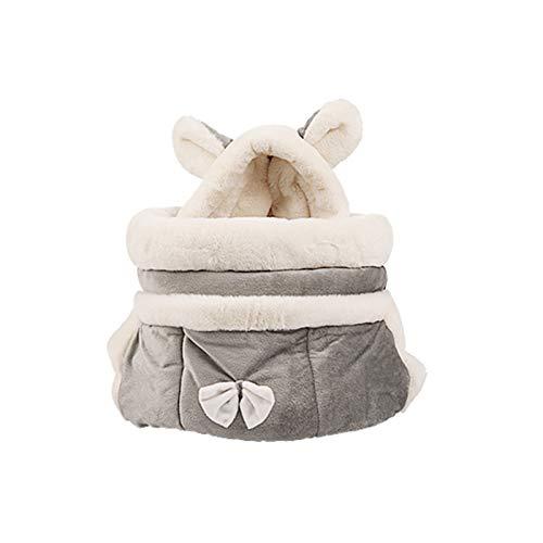REW - Mochila para mascotas (ajustable, apta para gatos, perros, conejos y otras mascotas pequeñas)