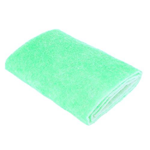 UEETEK Espuma filtrante bioquímica del filtro del acuario del filtro de la esponja del acuario del filtro para los tanques de acuario 120x30x0.8cm