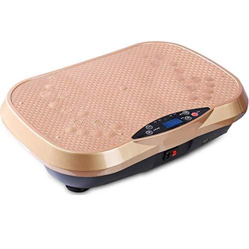 Trilplaten, trilvermogen van de trainer, oscillerend platform van het gehele lichaam door de muziek van de luidspreker voor Lose Weight wzmdd Goud 2