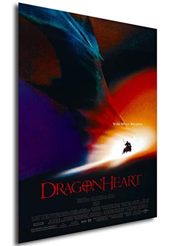 Instabuy Poster Dragonheart - Theaterplakat - A3 (42x30 cm)
