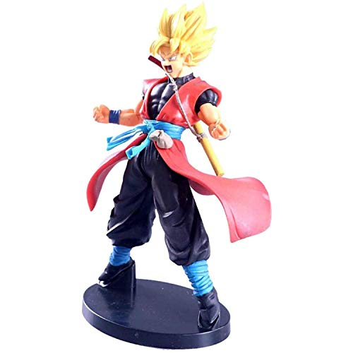 LINWX Anime Modelo Personaje Dragon Ball Super Saiyan Muñeca de Juguete Estatua Decoración Arte Regalos Creativos Decoración del Hogar Recuerdo Juvenil Escultura Adorno Regalo