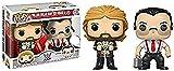 Funko POP WWE-'Million Dollar Man' Ted Dibiase & I.R.S-. 2 Pack