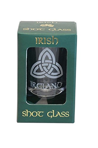 Trinity Knot Irish Shot Glass