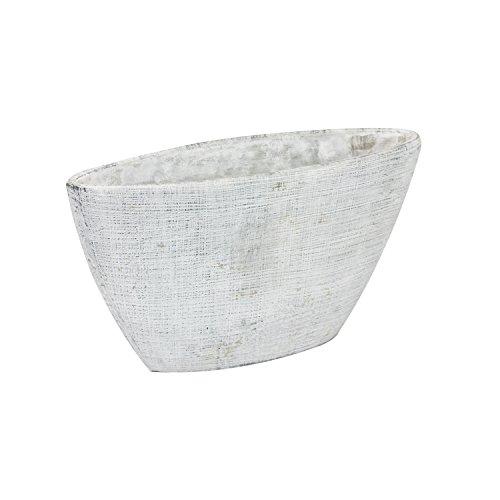 Pot de fleur en ceramique Etno 38 cm étroit