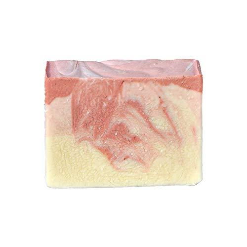 Mijo CHERRY BLOSSOM Kirschblüte Seife, handgemachte Naturseife mit Bio Olivenöl und Mandelöl, ohne Palmöl ca. 100 g