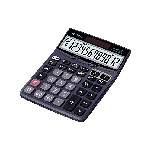 Casio DJ-120D 150 Steps Check and Correct Desktop Calculator with Bigger Screen/Keys...