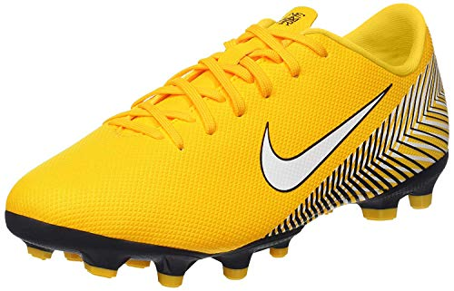 Nike Unisex-Kinder Vapor XII Academy Neymar MG Futsalschuhe, Mehrfarbig (Amarillo/White/Dynamic Yellow/Black 710), 38 EU