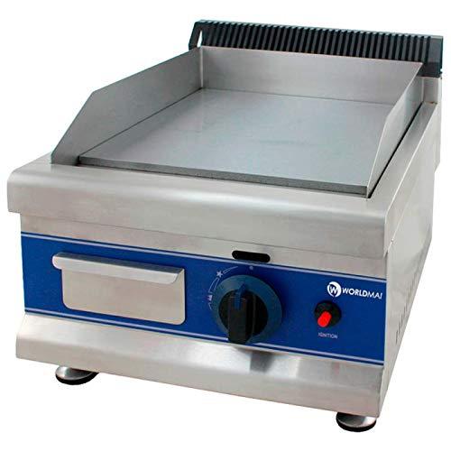 Fry-top a gas industrial cocina - Maquinaria Bar Hostelería