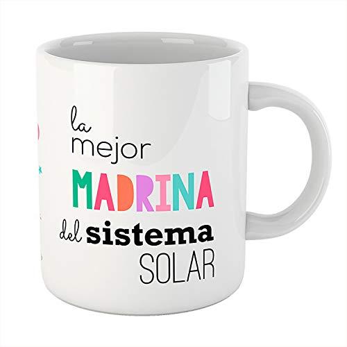 Kembilove Taza de La Mejor Madrina – Exclusiva Taza de 350ml –...