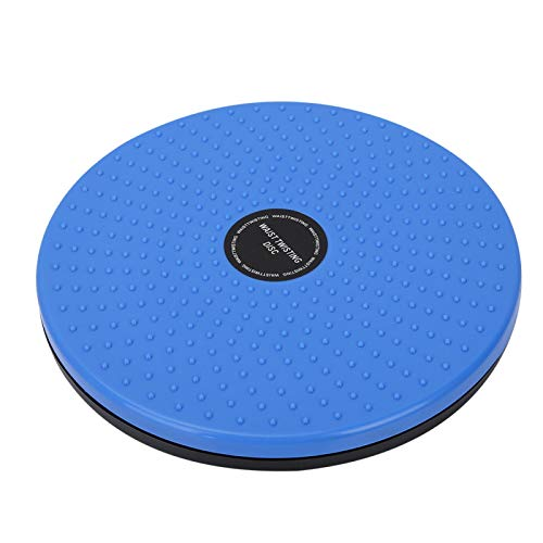 QITERSTAR Tablero Giratorio, Máquina Moldeadora de Cintura con Forma de Cuerpo Tablero Giratorio Equipo Deportivo Twister Femenino (Azul)