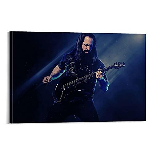 LOPOA Superstars John Petrucci.webp - Poster artistico da parete con immagine di John Petrucci.webp, 40 x 60 cm