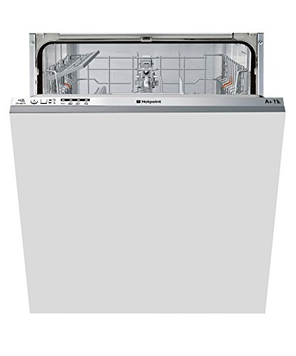 Hotpoint Aquarius LTB4B019 Fully Integrated Standard Dishwasher - Grey Control Panel
