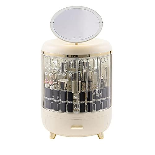 Mallette Maquillage Professionnel Coffret Malette à Onglerie Valise Vanité Rangement Maquillage Aluminium Bijoux Boîte de Cosmétique Organisateur à Maquillage Beauty Case Femmes (blanc)