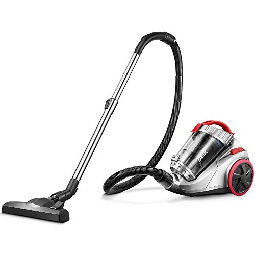 Deik Aspirateur, 800W Aspirateur sans Sacs Cyclonique, 18Kpa Powerful...