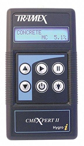 TRAMEX Moisture Meter, For Concrete/Wood, Digital