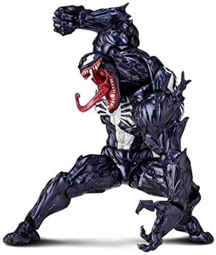 KIJIGHG Anime Marvel Legends Carnage Figura de accion Negro estandar Venom Marvel Juguetes vehiculos para ninos Modelo de Figura de Anime