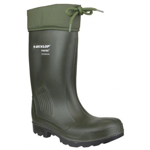 Dunlop Dunlop C462943.VK/Thermoflex Sicherheits-Gummistiefel für Herren (38 EUR) (grün)