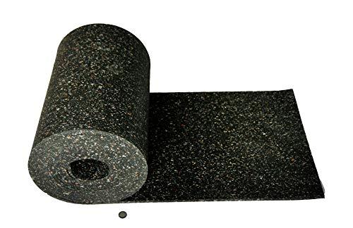 Gummimatte Anti-Vibrationsmatte Antirutschmatte 150 x 60 x 1 cm, schwarz (lfd. Gummimatte Meterware) (Bautenschutzmatte Gummigranulatmatte Kofferraummatte Bodenschutzmatte Bodenbelag Gummi)