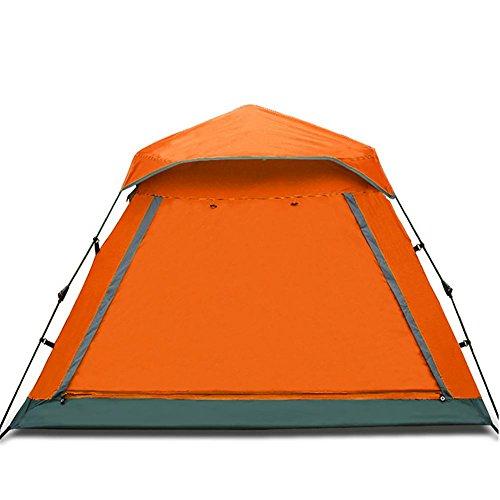Miao extérieur 3–4 personnes Camping/plage automatique tentes, Orange