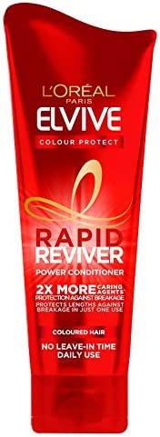 L'Oreal Elvive Colour Protect Conditioner for Coloured Hair, 400 ml, Pack of 6