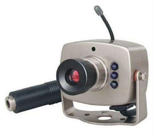 KesCom 803T-Kx Farb Funk Kamera mit Netzteil in den Kanälen 1 bis 4 erhältlich überträgt Bild und Ton - Kamera hier ohne Nachtsicht - hier nur die Kamera mit Netzteil zur Systemerweiterung