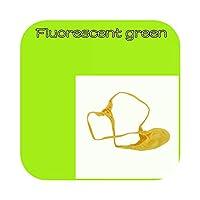 ジョックニューメンシャイニーサテンニットグレープストリングスひもポーチセックスセクシーパーフェクトランジェリーサマーモダン-Fluorescent green-M
