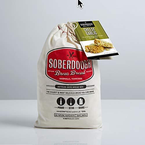 Soberdough Bread Mixes - Various flavors (Cheesy Garlic)