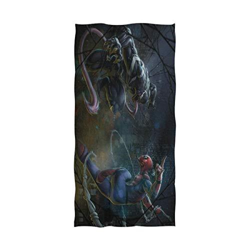 Emily-Shop Spiderman Venoms Serviette de Bain...
