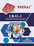IBO1-International Business Environment (IGNOU help book for IBO-1 in English Medium)