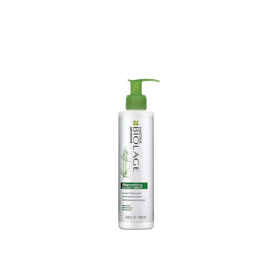 BIOLAGE Advanced Fiberstrong Intra-Cylane Fortifying Cream For Fragile Damaged Hair, 6.8 Fl Oz