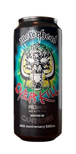 Motorhead OverKill Cerveza Beer 44 cl.