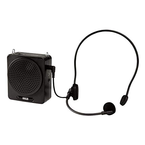 Ahuja Portable PA Neckband System NBA-20Dp Rechargeable With 1 Neckband Mic With USB And SD Card Input