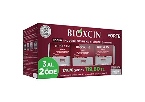 Bioxsine Pflanzliches Forte Serum-Spray bei starkem Haarausfall - für Frau und Mann | mit pflanzlichem Haarwaschmittel das Haarwuchs beschleunigen | schnelles Haar-wachstum | Haarwuchs-mittel 60 ml
