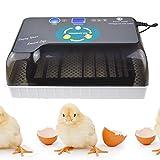 Incubatrice Automatica per Uova, 12 Uova Incubatrice Automatica per Trasferimento Uova, Display A LED per La Schiusa dei Polli Anatre Uccelli D'Oca Piccione Uova di Quaglia
