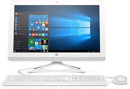 """HP 22-b359nl All-in-One PC, Intel Core i3-7100U, 8 GB di DDR4, SATA da 1 TB, Schermo FHD IPS Antiriflesso con Retroilluminazione a WLED 21.5"""" (1920 x 1080), Bianco"""