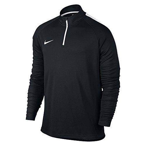 Nike Herren M Nk Dry Acdmy Dril Sweatshirt, schwarz/Weiß, L