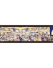 エンスカイ 950ピースジグソーパズル クイズPRG 魔法使いと黒猫のウィズ「108の異界の精霊たち」(950-51) 完成時サイズ34×102cm