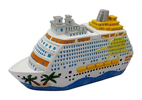 Spardose XXL Kreuzfahrtschiff 20 cm Sparschwein Sparkasse Kreuzfahrt Urlaub Urlaubskasse