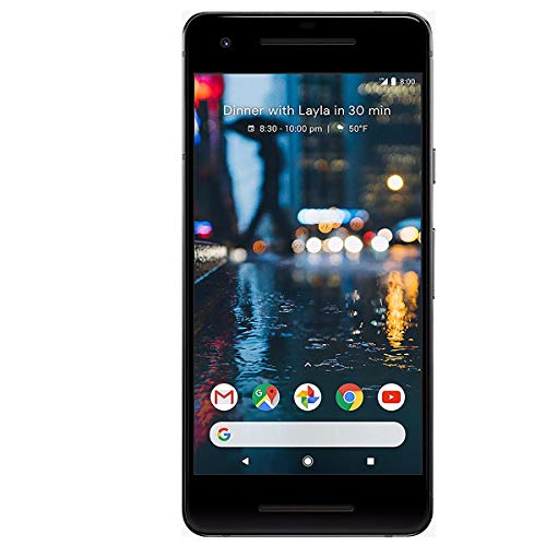 "Google Pixel 2 12,7 cm (5"") 4 GB 128 GB SIM singola 4G Nero 2700 mAh"