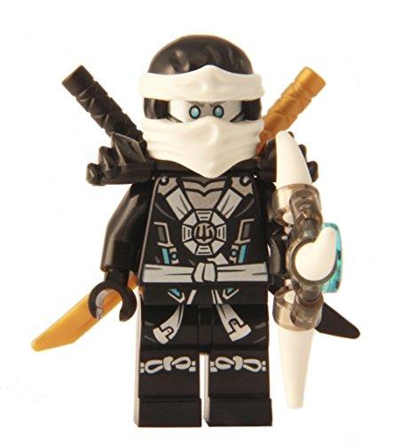 LEGO® Ninjago: Minifigure - Zane Deepstone Minifig with Armor and Aeroblade (70737)