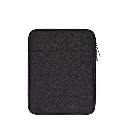 Fertuo 10,5 Zoll Tablet Hülle Wasserdicht Hülle Tasche Schutzhülle mit Zubehör Fach Sleeve Etui für Samsung Galaxy Tab S6 T860/T865 / S5e T720/T725 / S4 T830/T835 Tablet (Schwarz)