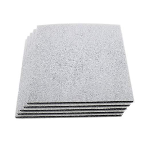 ADUCI Filtro HEPA para la aspiradora Partes universales Algodón para Proteger Mejor el Motor de la invasión del Polvo (tamaño : 40 Pieces)
