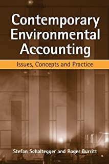Contemporary Environmental Accounting: Issues, Concepts and Practice