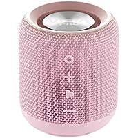 Vieta Pro Easy - Altavoz inalámbrico (True Wireless Bluetooth, Radio FM, Reproductor USB, auxiliar, micrófono integrado, resistencia al agua IPX6, batería de 12 horas) rosa